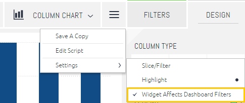 widget affects