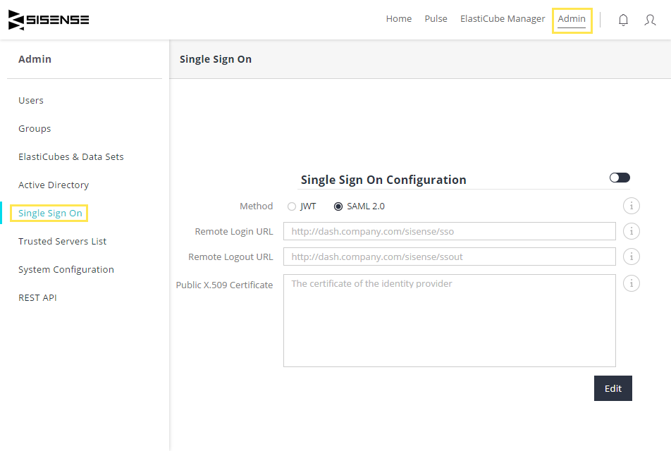 Setting Up SSO SAML 2 0 with Okta – Sisense Community