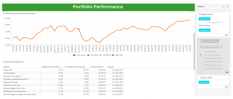 Investment Portfolio Performance