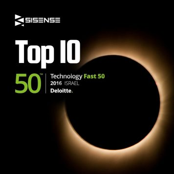 Sisense ranked Top 10 in Deloitte's Technology Fast 50 list for 2016