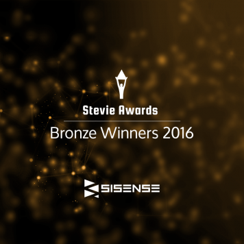 Sisense Wins Stevie Award for Company of the Year in Computer Software