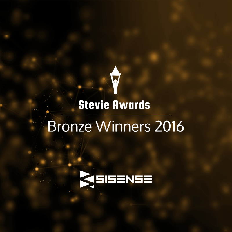 Sisense wins Stevie Awards