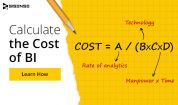 How to Calculate Total Cost of Ownership for Business Intelligence