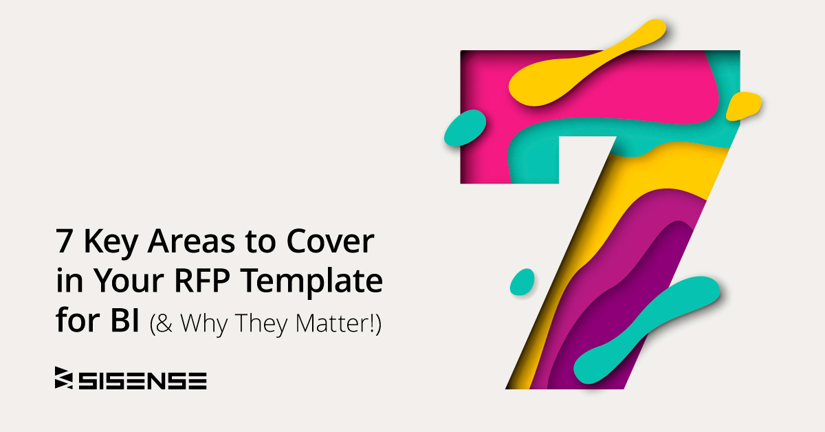 7 Key Areas to Cover in Your RFP Template for BI l Sisense