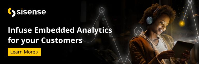 Embedded Analytics Banner