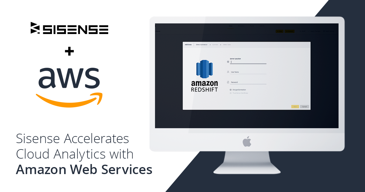 Sisense Accelerates Cloud Analytics with Amazon Web Services