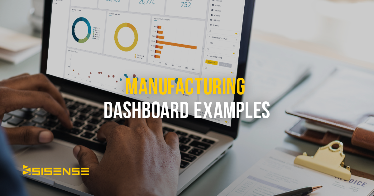 manufacturing dashboards and templates