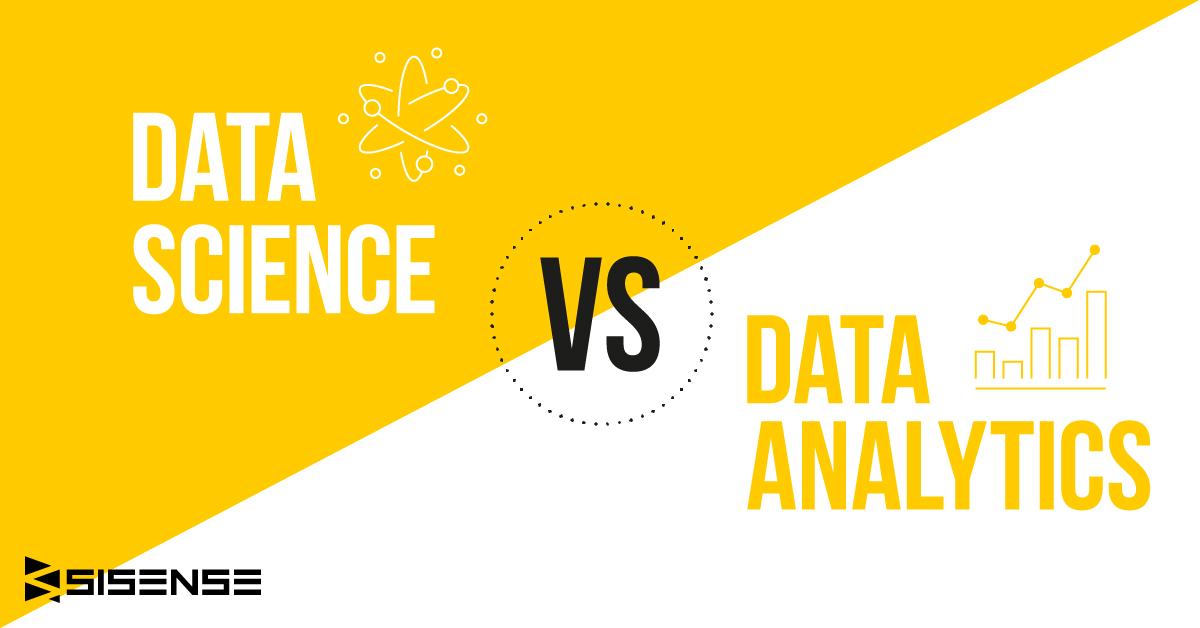 data science vs. data analytics