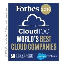 Forbes Cloud 100 - Leading Cloud Companies list