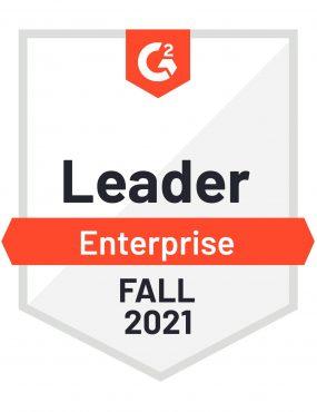 G2 Enterprise Leader Medal - Fall 2021
