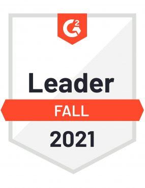 G2 Fall Leader Medal - Fall 2021