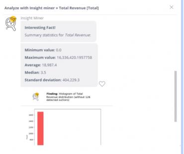 Analyze with Insight Miner | Sisense