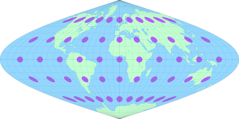 Sinusoidal globe