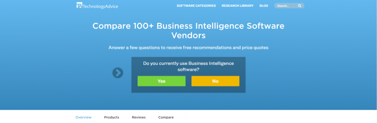 19 Websites for Business Intelligence Tools Comparison - DZone Big Data