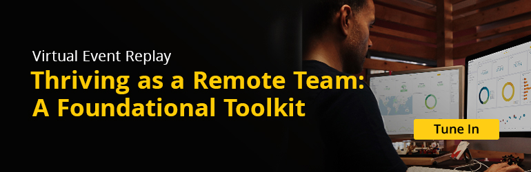 Thriving as a Remote Team