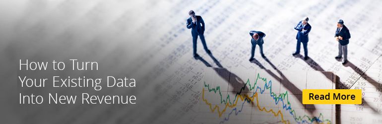 How to Turn Existing Data into New Revenue