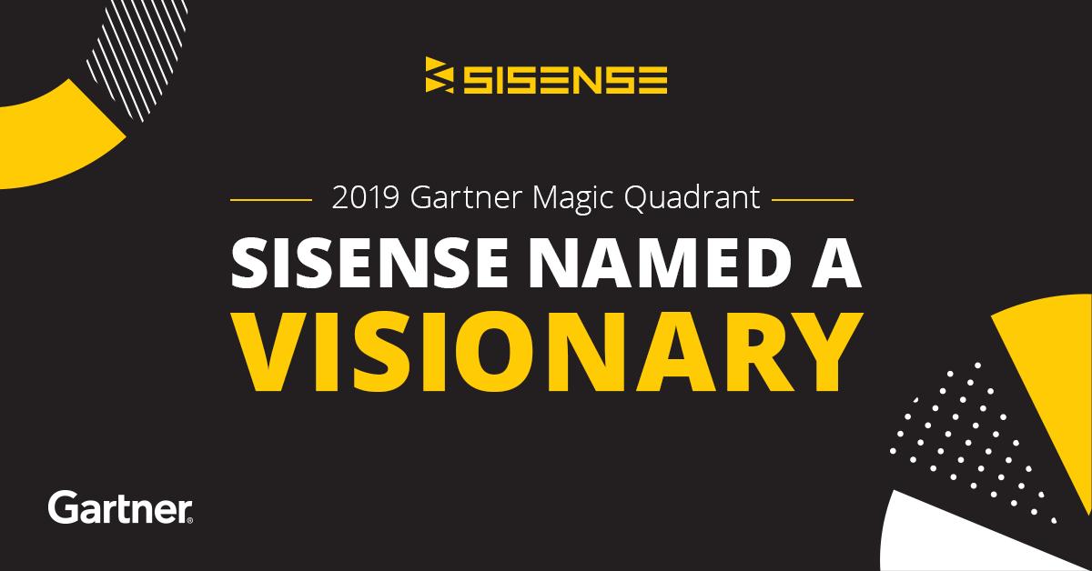 2019 Gartner Magic Quadrant for BI and Analytics | Sisense