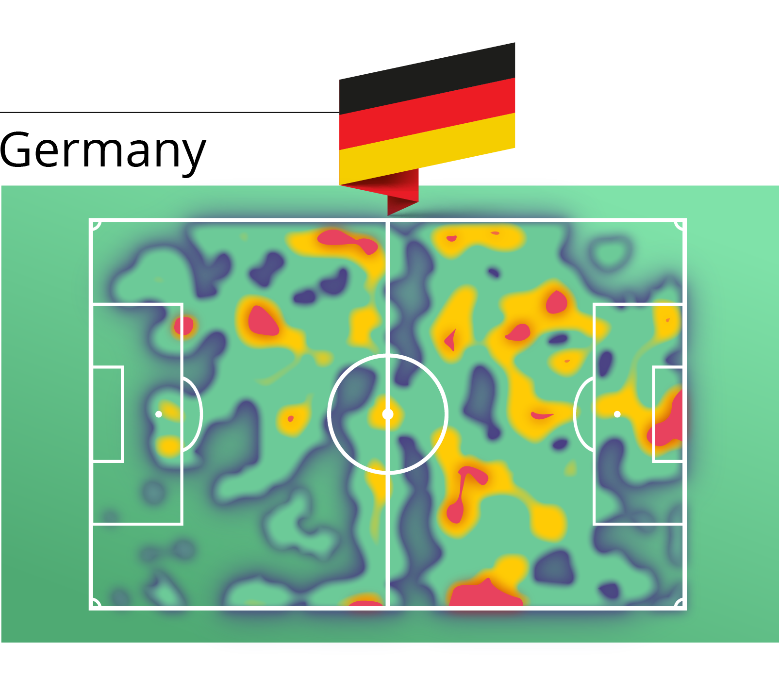 Germany heat map