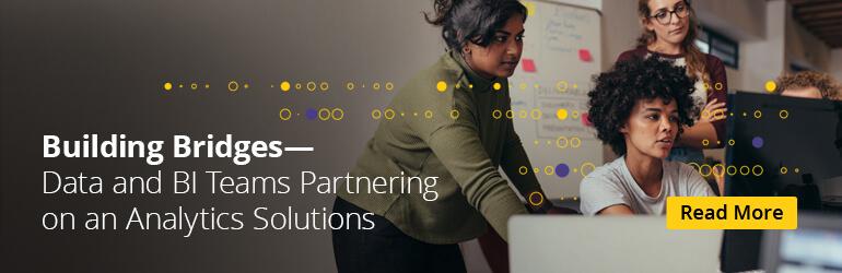 Product- en gegevensteams die samenwerken op het gebied van analyse