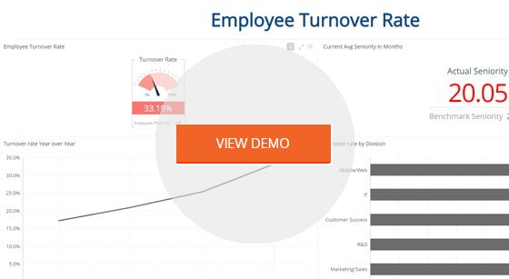 Kpi Dashboard Templates For Human Resources | Sisense