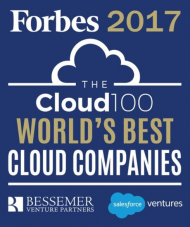 Forbes Cloud 100 - Leading Cloud Companies list