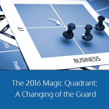Gartner's 2016 Magic Quadrant Redefines Business Intelligence Software
