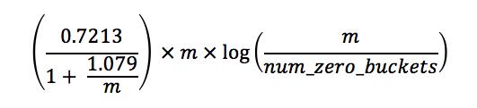 Correcting formula