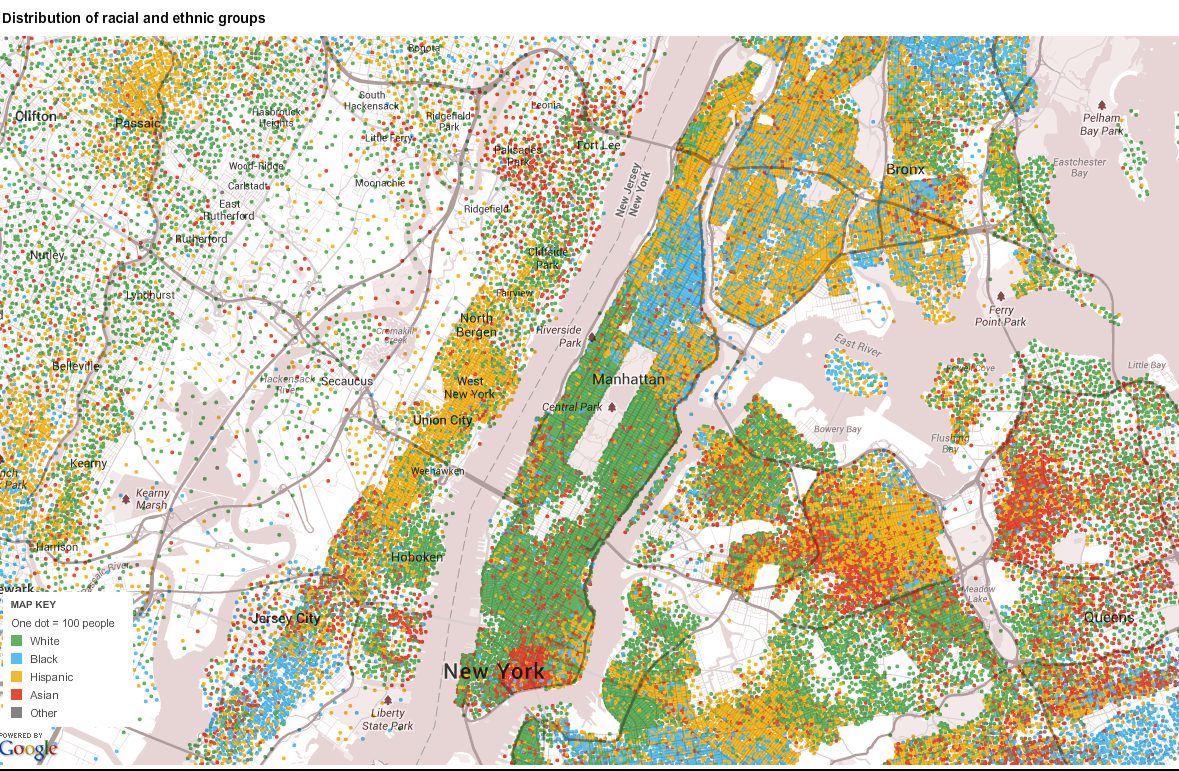 ny distribution of racial and ethnic groups
