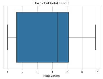 Petal length