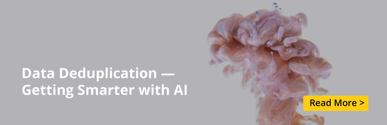 si whitepaper banner data deduplication 092720191 Artificial Intelligence, Real Enhancements, Better Insights