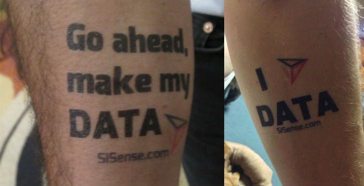 sisense tatoo